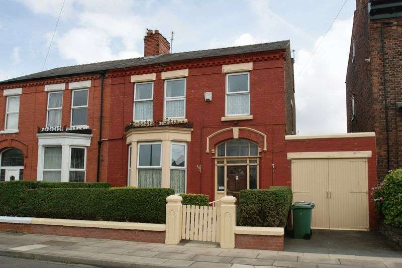 4 Bedrooms Semi Detached House for sale in Onslow Road, Liverpool