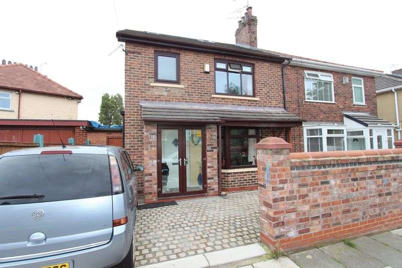4 Bedrooms Semi Detached House for sale in Harris Drive, Bootle