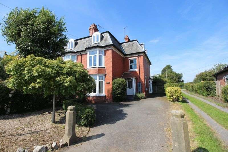 5 Bedrooms Semi Detached House for sale in Ashley, Elson Road Ellesmere SY12 9EU