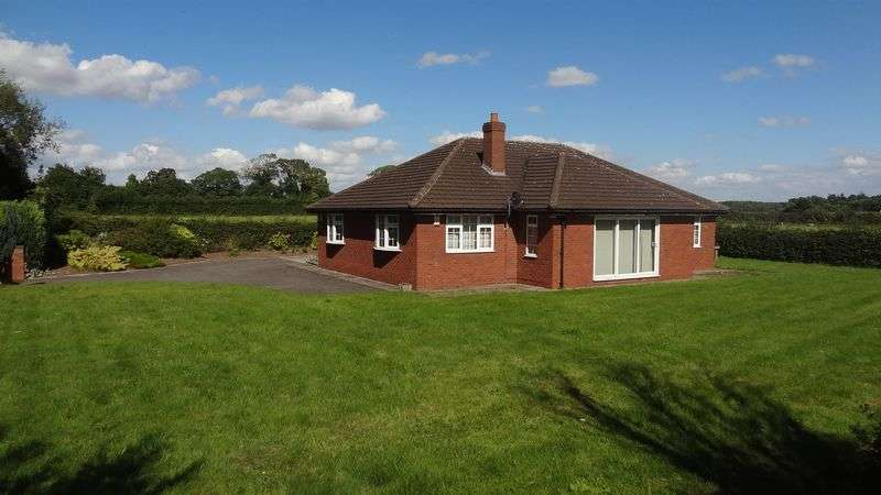 2 Bedrooms Detached Bungalow for sale in Wilmore Hill Lane, Stafford