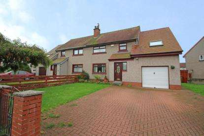 4 Bedrooms Semi Detached House for sale in McKinlay Crescent, Irvine, North Ayrshire