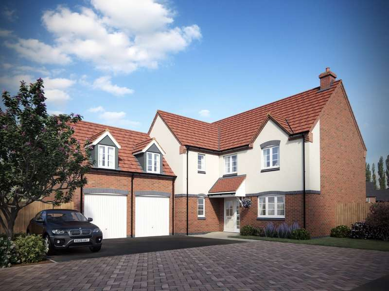 4 Bedrooms Detached House for sale in Hamstall, Off Overwoods Road, Tamworth, B77 5NG