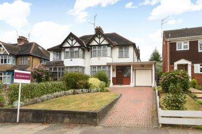 4 Bedrooms Semi Detached House for sale in Moss Hall Grove, Finchley