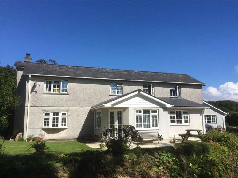 5 Bedrooms Detached House for sale in Lanjeth, St Austell