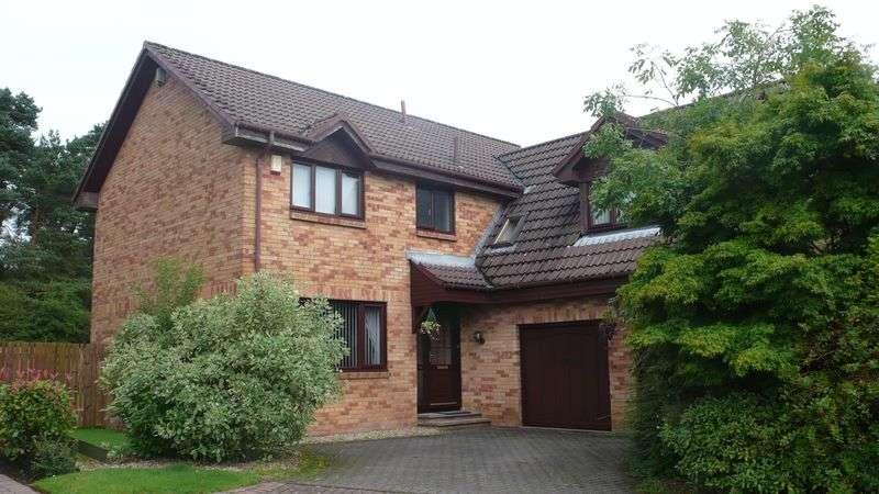 4 Bedrooms Detached House for sale in Turnberry Gardens, Westerwood, Cumbernauld