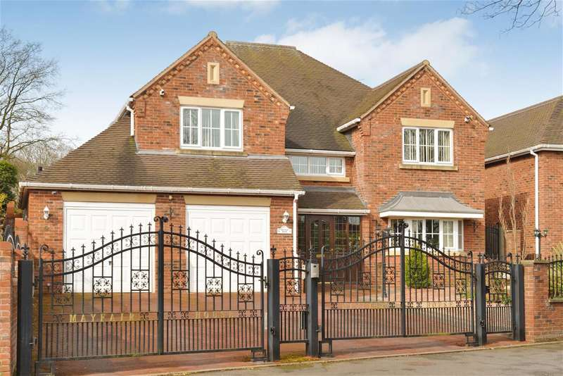 5 Bedrooms Detached House for sale in Hyperion Road, Stourton, South Staffordshire, DY76SD