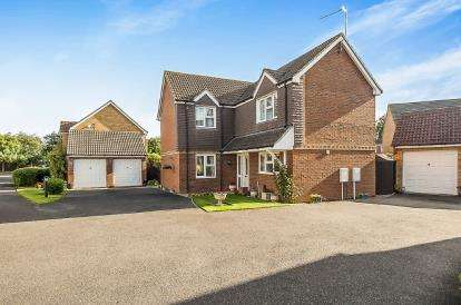 4 Bedrooms Detached House for sale in Davidson Drive, Boston, Lincolnshire
