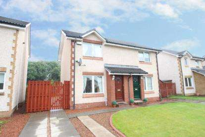 2 Bedrooms Semi Detached House for sale in Calico Way, Lennoxtown, Glasgow, East Dunbartonshire