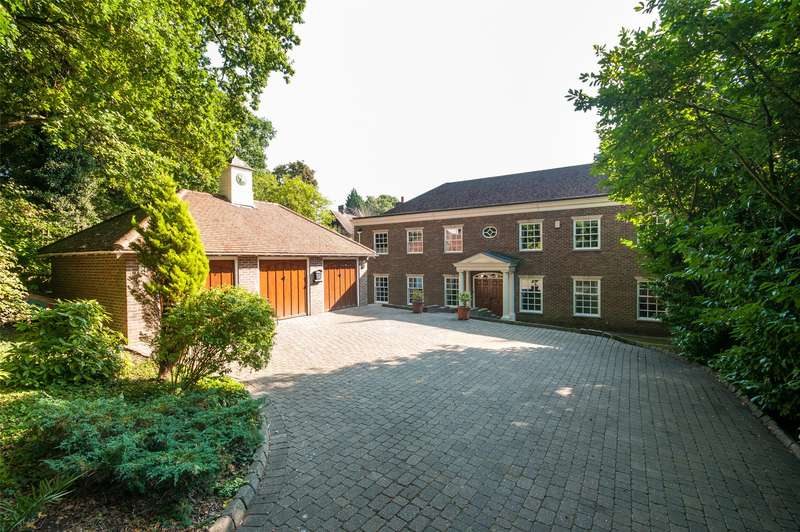 5 Bedrooms Detached House for sale in Pilgrims Way, Reigate, RH2