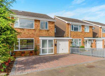 4 Bedrooms Detached House for sale in Flexmore Way, Langford, Biggleswade, Bedfordshire