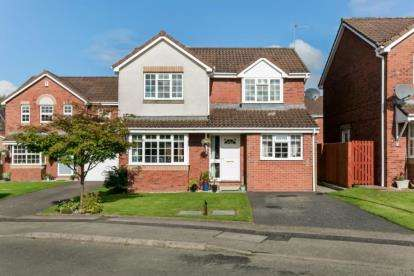 5 Bedrooms Detached House for sale in Oldwood Place, Livingston