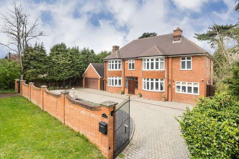 6 Bedrooms Detached House for sale in Great Amwell, Nr Ware, Herts
