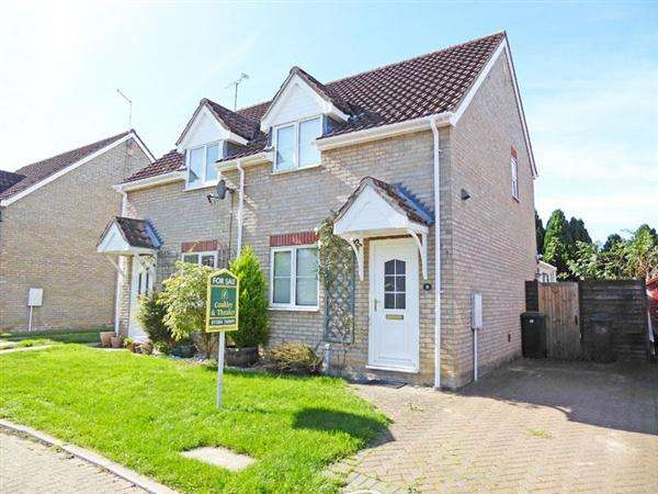 2 Bedrooms Semi Detached House for sale in Cornmill Green, Woolpit, BURY ST. EDMUNDS IP30 9RB