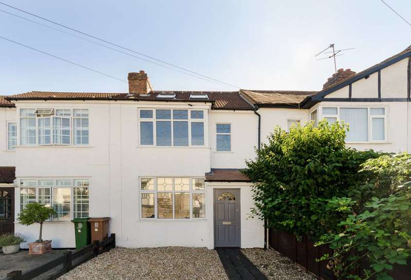 Terraced house in  Conrad Drive  Worcester Park  KT4  Richmond