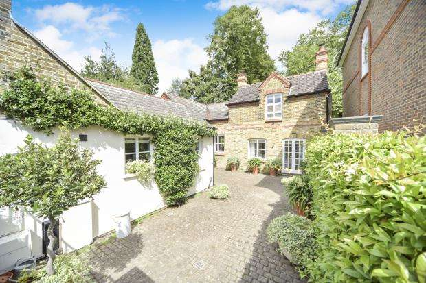 Detached house in  King George Square  Richmond  Surrey  TW10  Richmond