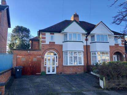 Semi Detached in  Arden Road  Acocks Green  Birmingham  West Midlands  B27  Birmingham