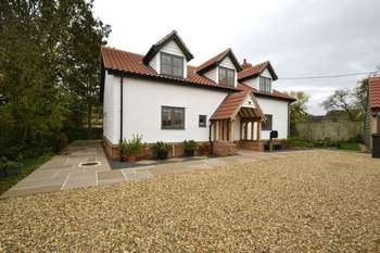4 Bedrooms Detached House for sale in Mill Road, Battisford, Stowmarket
