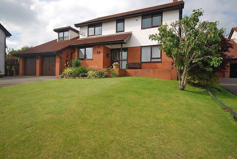 5 Bedrooms Detached House for sale in The Paddocks , Lodge Hill, Caerleon, Newport, South Wales. NP18 3BZ