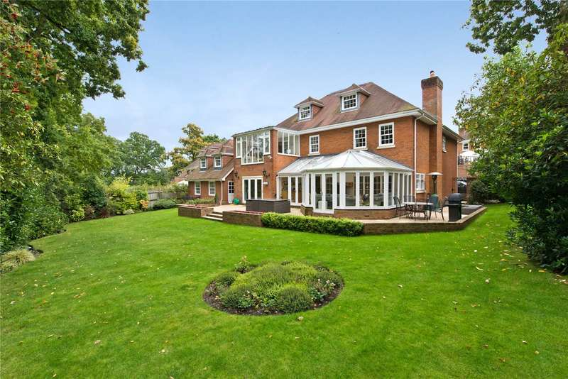 6 Bedrooms Detached House for sale in The Leigh, Coombe Hill Road, Kingston Upon Thames, KT2
