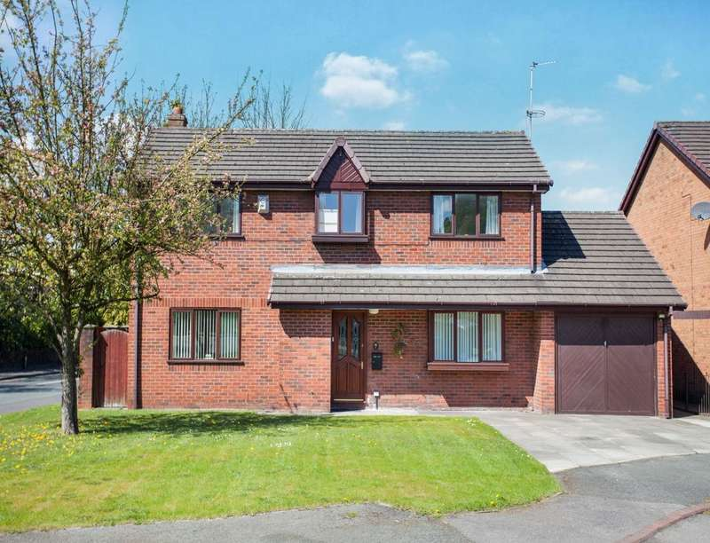 4 Bedrooms Detached House for sale in Old School Place, Ashton-In-Makerfield, Wigan, WN4
