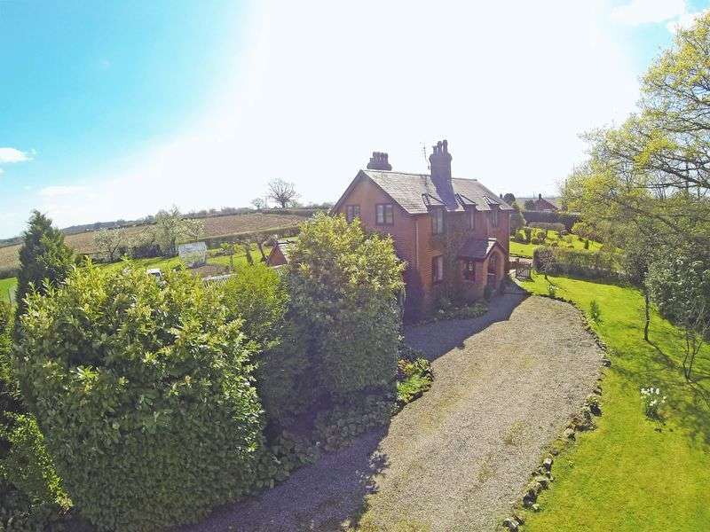 4 Bedrooms Detached House for sale in Crabtree Green, Eyton, Wrexham