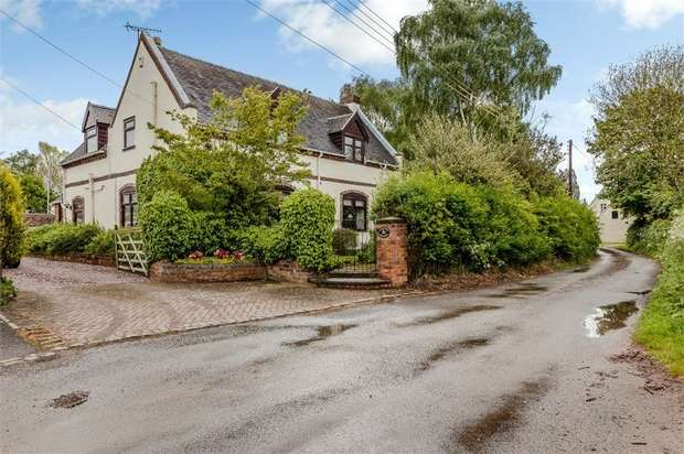 5 Bedrooms Detached House for sale in Nethertown, Rugeley, Staffordshire