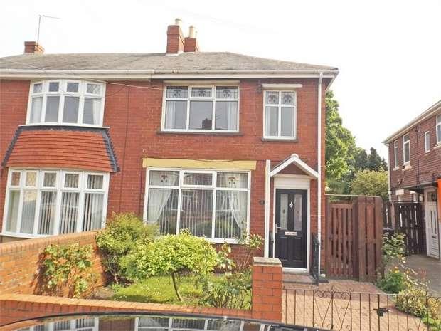 2 Bedrooms Semi Detached House for sale in Highbury Place, North Shields, Tyne and Wear
