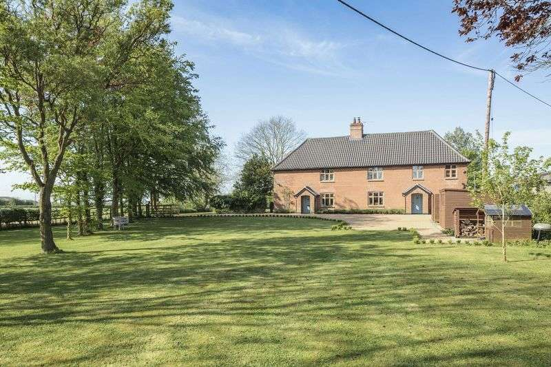 5 Bedrooms Detached House for sale in Alburgh, Near Harleston
