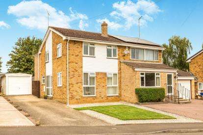 3 Bedrooms Semi Detached House for sale in Brantwood Rise, Banbury, Oxfordshire