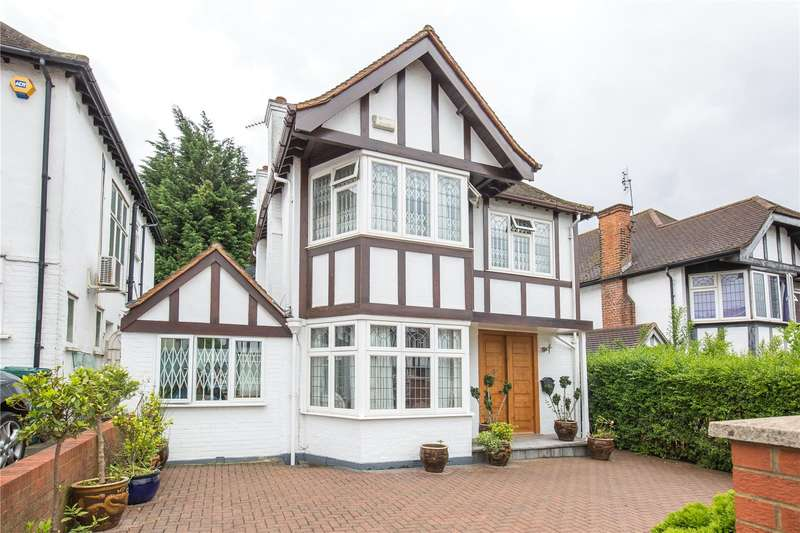 3 Bedrooms Detached House for sale in Edgeworth Avenue, Hendon, London, NW4