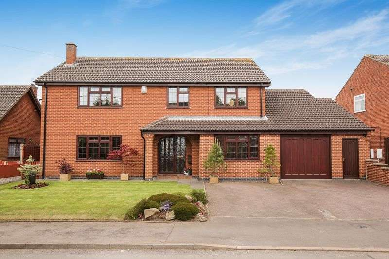 4 Bedrooms Detached House for sale in * NEW PRICE! Church Street, Appleby Magna, Derbyshire DE12 7BB
