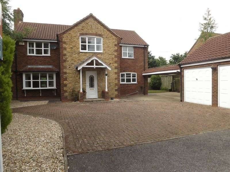 4 Bedrooms Detached House for sale in Springfields, TEALBY