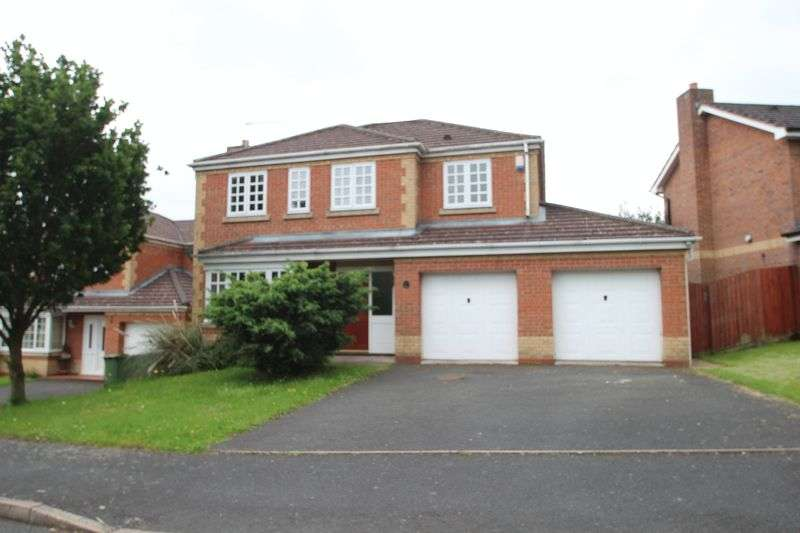 4 Bedrooms Detached House for sale in Adamson Drive, Horsehay