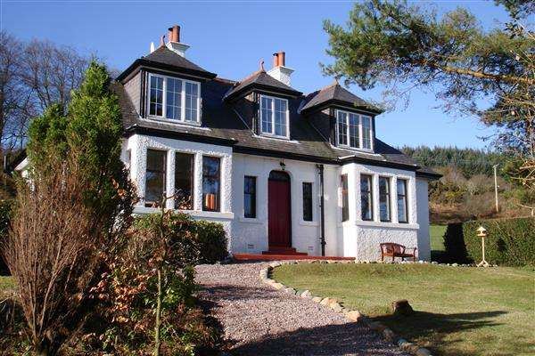 5 Bedrooms Detached House for sale in Creag-Raineach, High Auchencairn, Whiting Bay