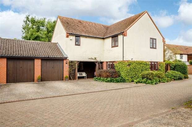 5 Bedrooms Detached House for sale in The Gables, Fenstanton, Huntingdon, Cambridgeshire