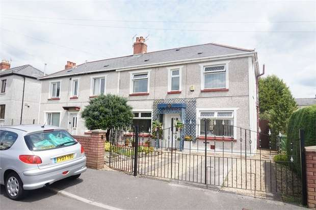 3 Bedrooms Semi Detached House for sale in Sannan Street, Aberbargoed, BARGOED, Caerphilly