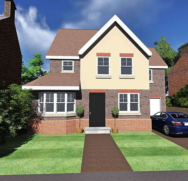 3 Bedrooms Detached House for sale in BUILDING PLOT AVAILABLE