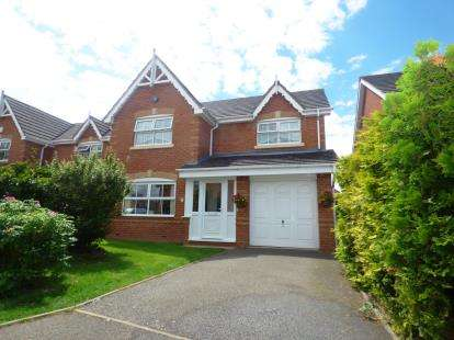 4 Bedrooms Detached House for sale in Whitesands Close, Amington, Tamworth, Staffordshire