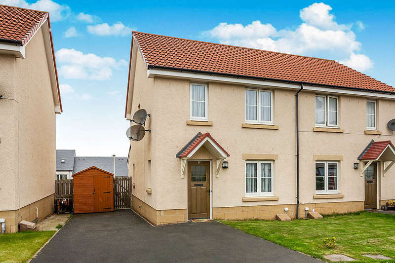 3 Bedrooms Semi Detached House for sale in Easter Langside Crescent, Dalkeith, EH22
