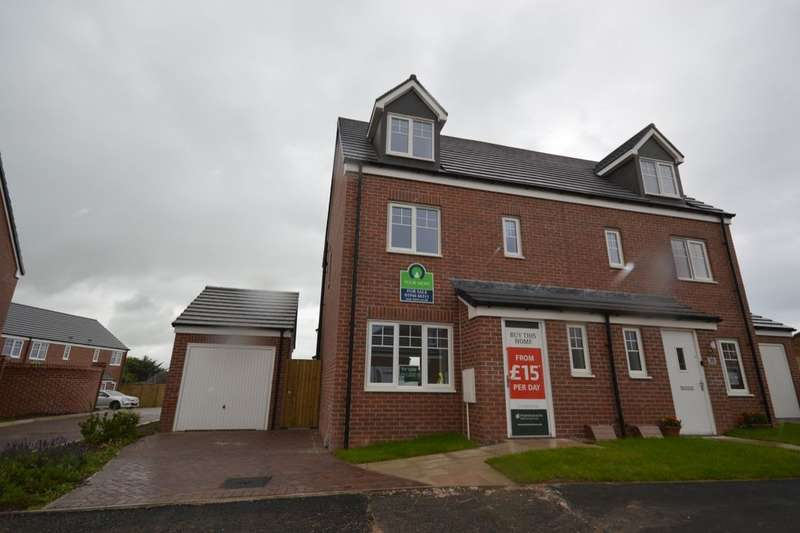 4 Bedrooms Semi Detached House for sale in Links Crescent, The Links, Seascale, CA20
