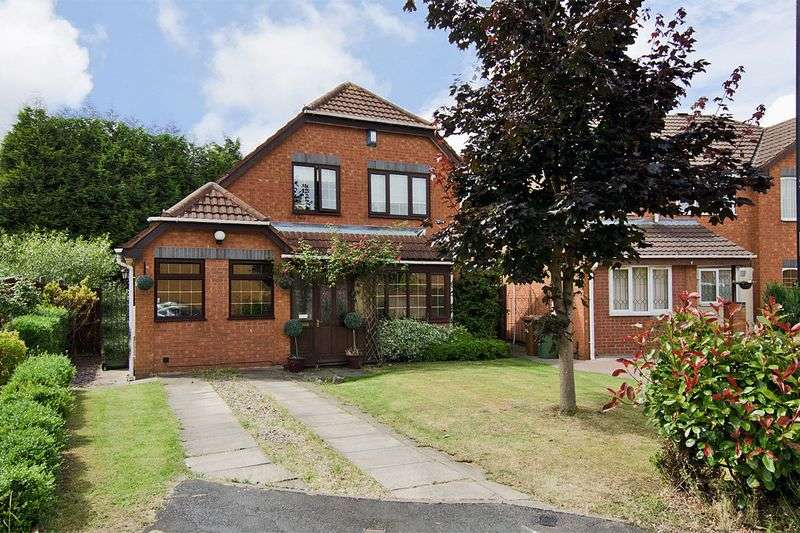 3 Bedrooms Detached House for sale in Ashburn Grove, Willenhall