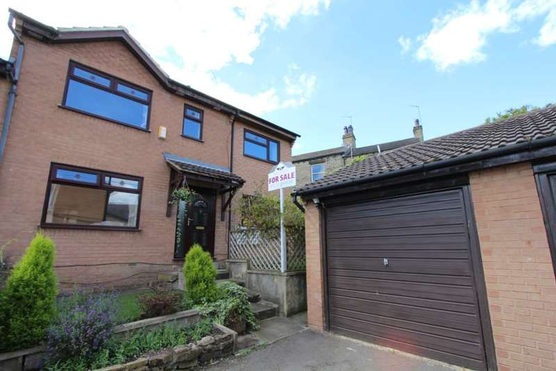 4 Bedrooms Semi Detached House for sale in Birchwood Court, Liversedge