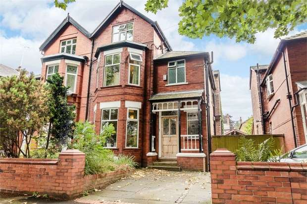 5 Bedrooms Semi Detached House for sale in Chandos Road South, Manchester