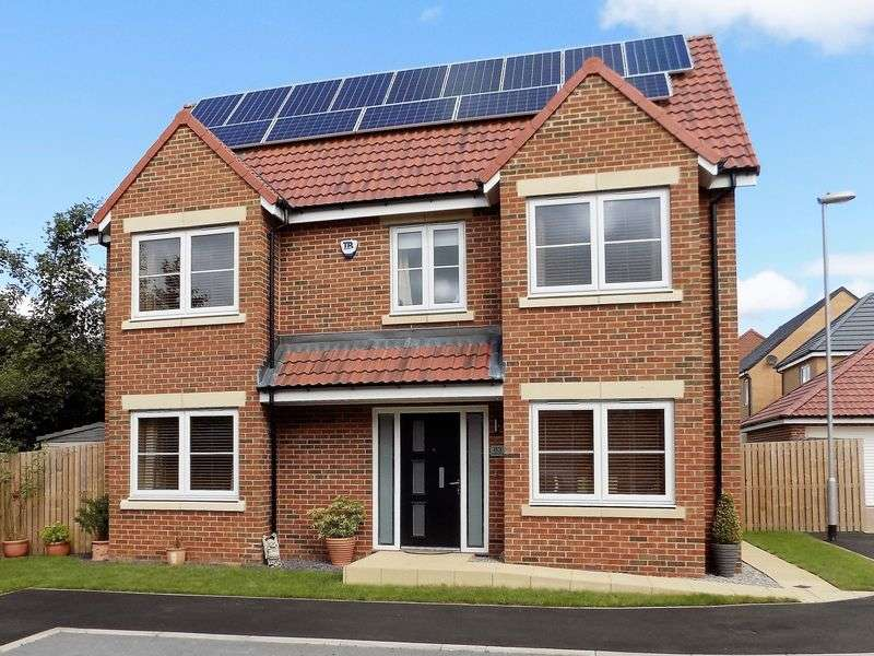 4 Bedrooms Detached House for sale in Rushyford Drive, Chilton