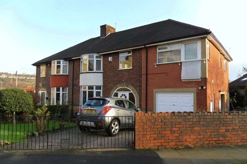 5 Bedrooms Semi Detached House for sale in Well Head Drive, Halifax