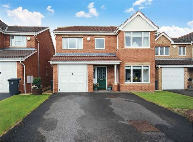 4 Bedrooms Detached House for sale in Ladymead, Barnsley, South Yorkshire