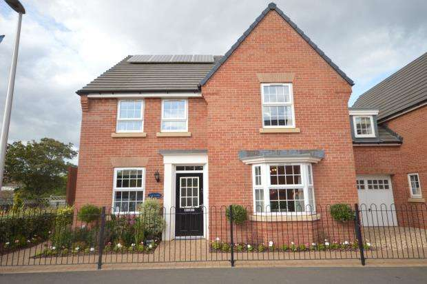 4 Bedrooms Detached House for sale in Rougemont Park, Exeter
