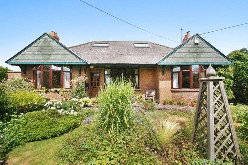 4 Bedrooms Detached House for sale in Wookey Hole, a mile from Wells