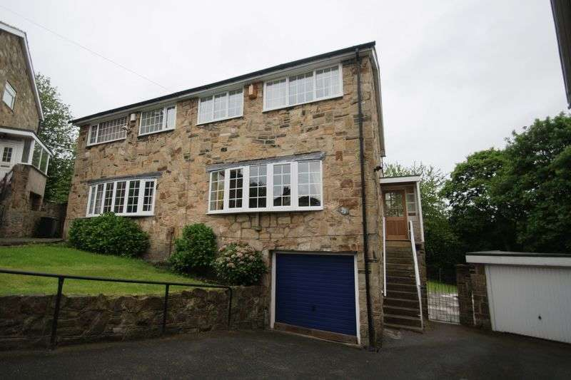 4 Bedrooms Semi Detached House for sale in Cross Lane, Brighouse