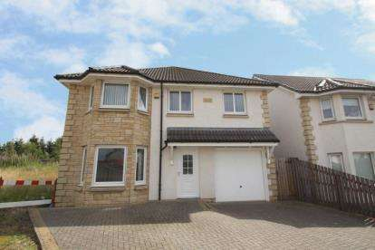 4 Bedrooms Detached House for sale in Ross Court, Addiewell